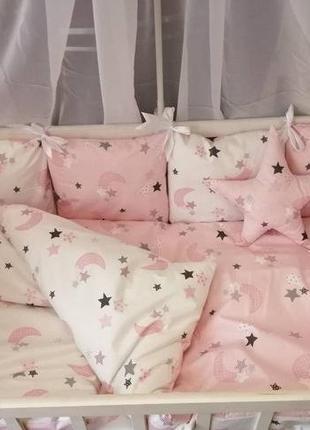 Детское постельное бельё в кроватку ТМ Bonna Перфект