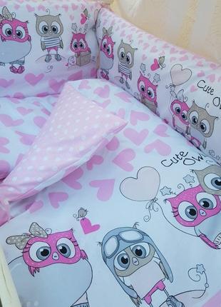 Детское постельное бельё в кроватку ТМ Bonna купон