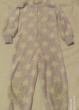 Мягкая пижама слип кугуруми 4-5 лет