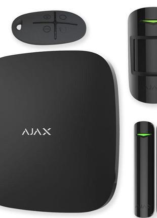 Комплект сигнализации Ajax StarterKit / Plus белый черный датчики