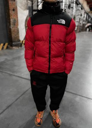 Пуховик the north face 700 - red