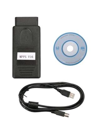 MPPS V16 OBD2 программатор ЭБУ ECU автомобилей