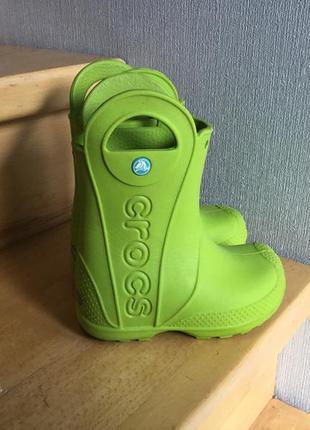 Crocs c8 сапоги