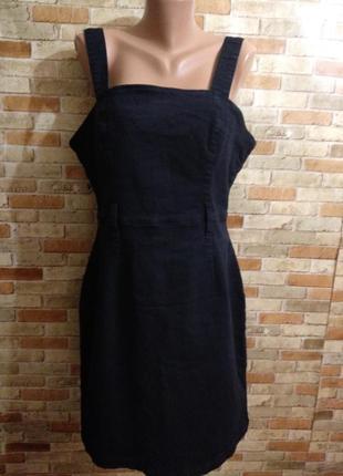 Новый джинсовый стрейчевый сарафан 18/52-54 размера