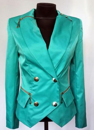 Суперцена. стильный пиджак. новый, р. s