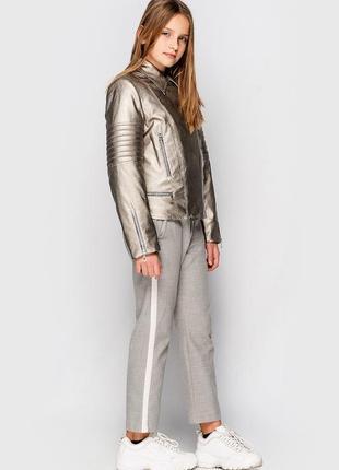 Куртка для девочки, демисезонная, подростковая