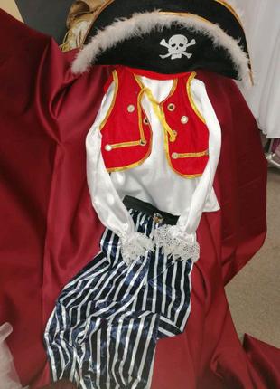 Новорічний костюм пірата
