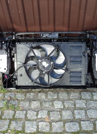 Диффузор и вентилятор в сборе для Audi A3 8V 2.0 USA Седан