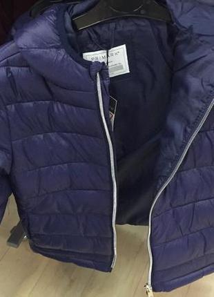 Деми курточка primark с капюшоном
