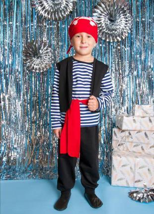 Костюм новогодний пират с начесом