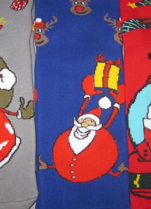 Носки мужские махровые.новогоднии.разм 40-43