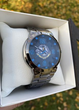 Мужские наручные часы Q&Q Q-862 415 эмблема Разведка