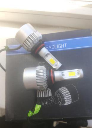 LED Лэд Лампы HB3 72 Вт.6000К. светодиодные лампы