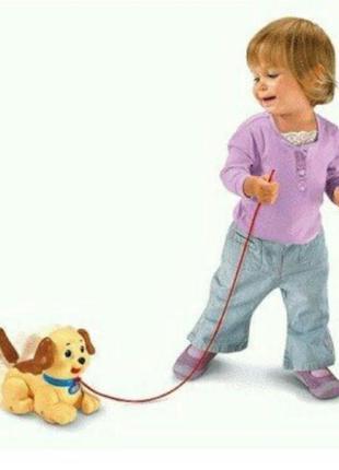 Интерактивная развивающая игрушка веселый щенок