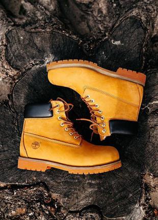 Женские ботинки timberland зима натуральный нубук