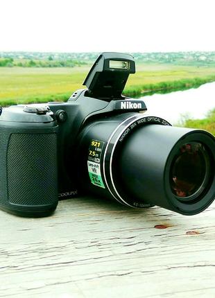 Nikon L810+Сумка+Карта,Красный,Черный,Фотоаппарат