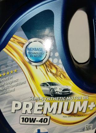 Моторное масло Несте Neste Premium + 10-W40 4л