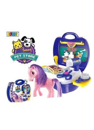 Игровой набор Парикмахерская Пони+ фигурки Hatchimalsв подарок