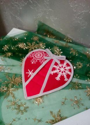 Прихватки, новогодний подарок