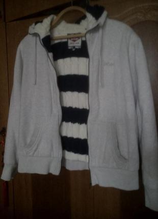 Толстовкп, курточка утепленная