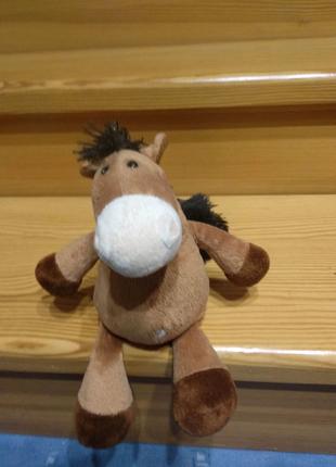 Мягкая игрушка лошадка