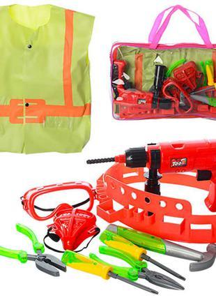 Набор инструментов с жилетом + набор Chima в подарок