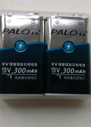 Акумулятори Palo крона 9 в 300 mah