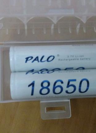 Акумулятори розміру 18650 3.7 в Palo