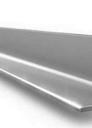 Алюминиевый уголок (равносторонний) 80х80х6мм АД31 / АД0