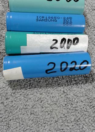 Аккумуляторные литий - ион батареи акб 18650 3.7V перезаряжаемые