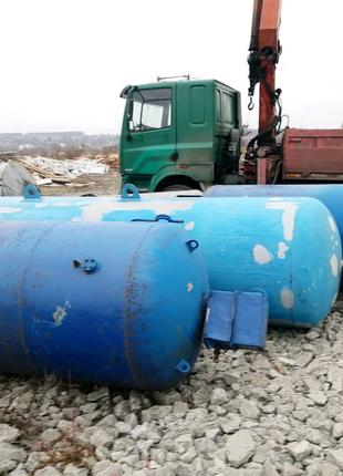 Воздушный ресивер, цистерна, резервуар, ёмкость металлическая б.у