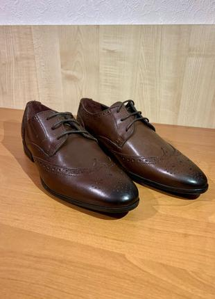 Новый кожаные туфли Topman