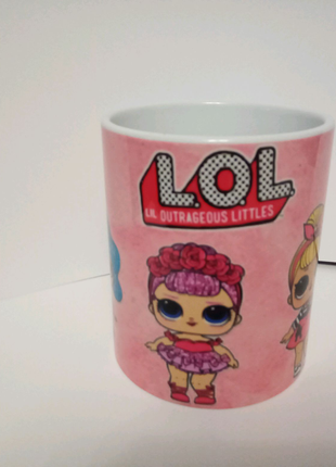 Чашка лол lol