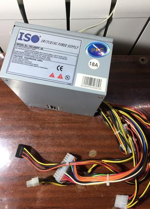 Блок питания для Персонального Компьютера ISO-450PP 4S