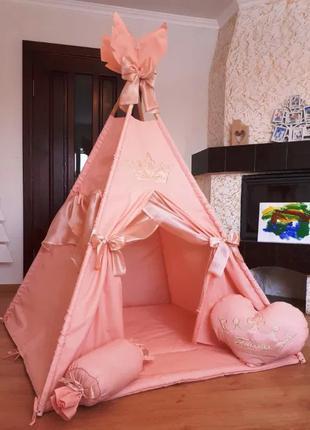 Вигвам палатка детский игровой домик ,шатер