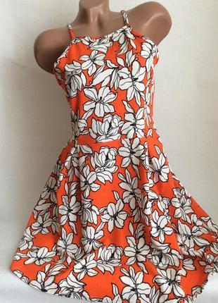 Яркое летнее платье от select