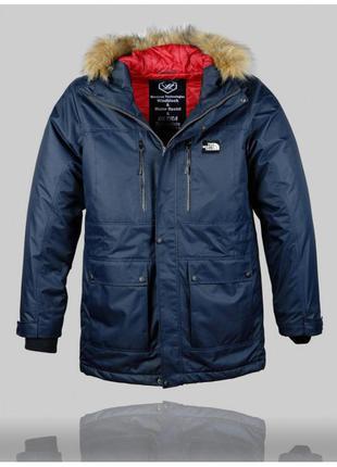 Удлиненная куртка the north face