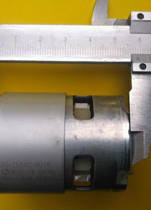 Двигатель rs 755  гайковерт шуруповерта 18 вольт