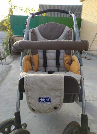 Детская коляска chicco 2 в 1