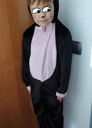 Карнавальный костюм детский кошка на 4-5 лет