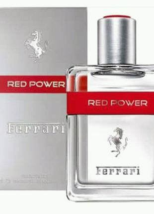 125 мл Ferrari Red Power  Мужской парфюм