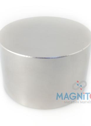 Постоянный сверх мощный магнит. Шайба 90х50 мм