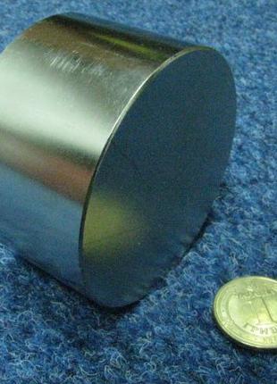 Неодимовый магнит. Диск 70х40 мм