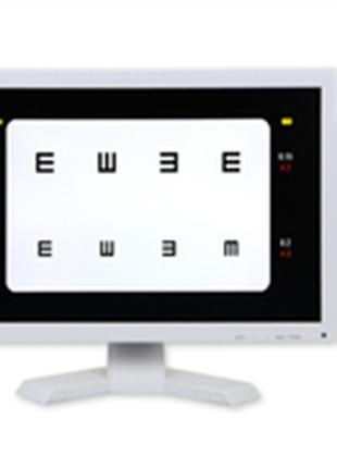Экранный проектор, глазная диаграмма VC-10 19-дюйма ЖК-дисплей