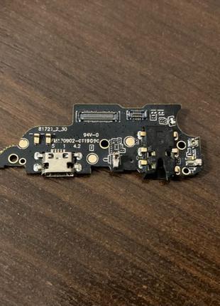Разъём зарядки Meizu M6 Note Charge (с платкой)