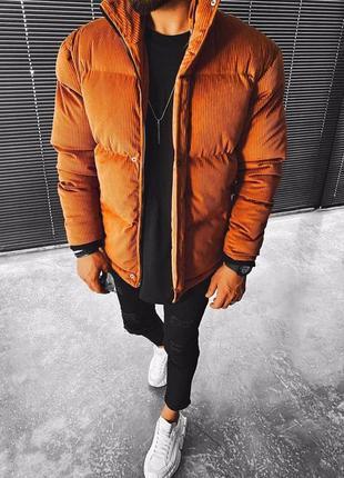 Мужская зимняя куртка оверсайз