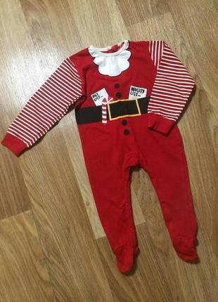 Новогодний костюм / новогодний человечек для мальчика