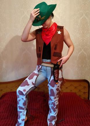 Карнавальный костюм ковбоя,шериф,костюм шерифа,ковбой,новогодн...