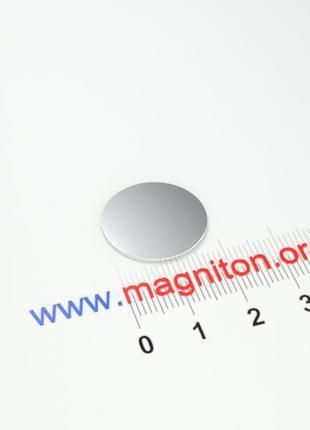 Магнит неодимовый 18х3 мм
