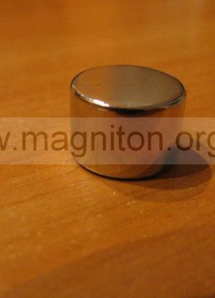 Неодимовый магнит, диск 15х10 мм